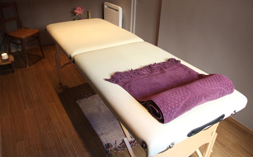 Espace dédié au massage et au bien-être à Marseille