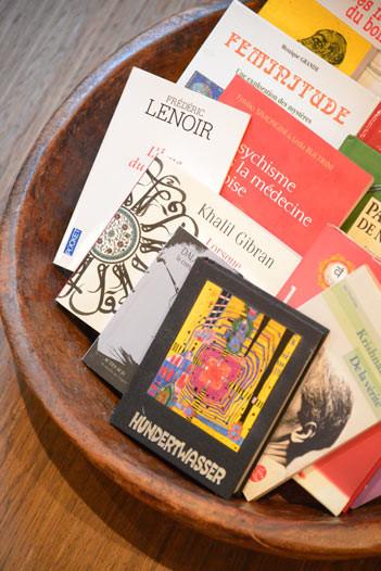 Livres dédiés au bien-être et au massage