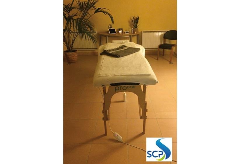 Massage en entreprise pour la société du Canal de Provence