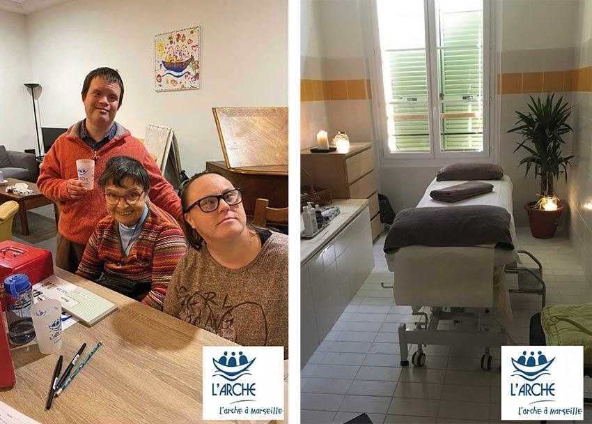 Massage pour le secteur médico-sociale à Marseille